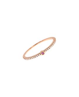 SAPPHIRE Ring|14K Roségold