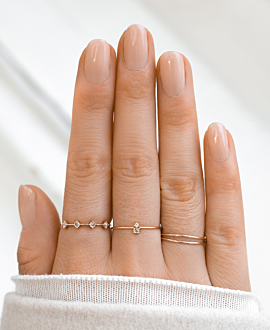 RING 14K ROSE GOLD
