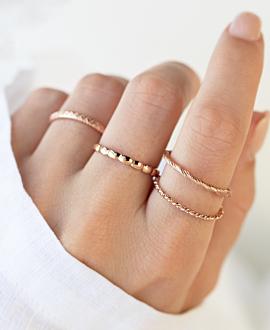 TANGLED  Ring Rosé