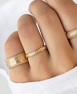 LELIA  Ring Gold