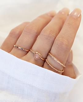 COEUR DE LA LUNE  Ring Rosé