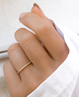 MEMOIRE Ring  14K Gold