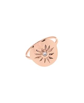 MINERVA|Ring rosé vergoldet