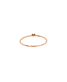 DIAMOND RING 10K ROSE GOLD