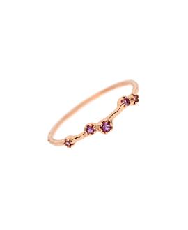 AMETHYST Ring Rosé