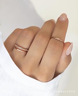 TOPAZ MEMOIRE  Ring Gold