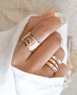 CATO  RING ROSE