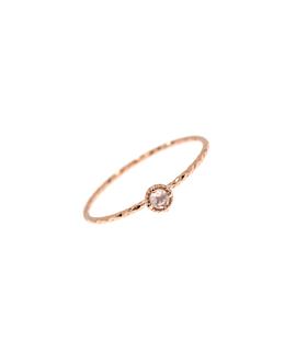 GRACIOUS CIRCLE|Ring Rosé