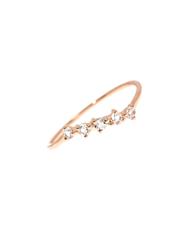 OBLIQUE|Ring Rosé