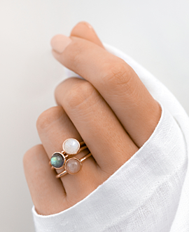 LABRADORIT Ring Rosé