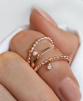 OPAL Ring Rosé