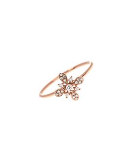 DIAMOND Ring|14K Roségold