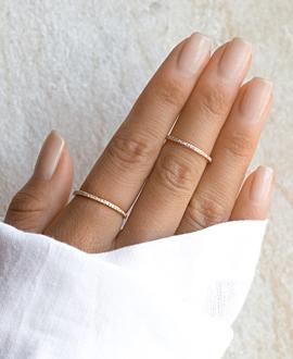 MEMOIRE Ring  14K Roségold