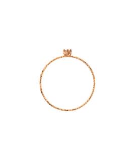 MOONSTONE RING  14K ROSE GOLD