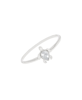 SEA TURTLE|Ring Silber