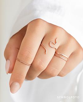 VIPER  Ring Silber