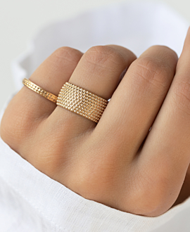 ERCILIA  Ring Gold