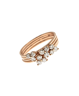 FABULOUS Ring 14K Roségold