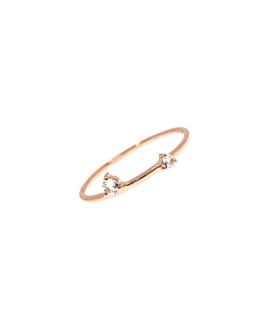 GEM DUO  Ring Rosé