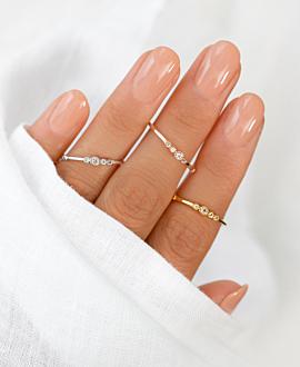 VALEA Ring Silber