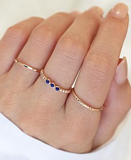 LAPIS BUBBLE  Ring Rosé