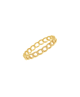 CHAIN LINK|Ring Gold