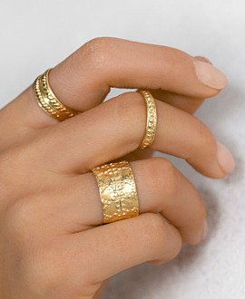 LOUISE RING GOLD
