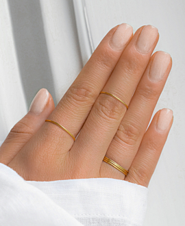 SIMPLISTA Ring Gold