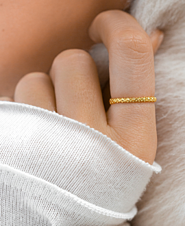 RHOMB Ring Gold
