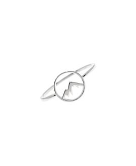 MOUNTAIN|Ring Silber