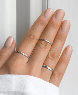 EVERYDAY Ring Silber