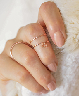 URBAN STYLE Ring Rosé