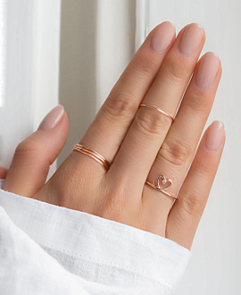 ENDLESS LOVE Ring Rosé