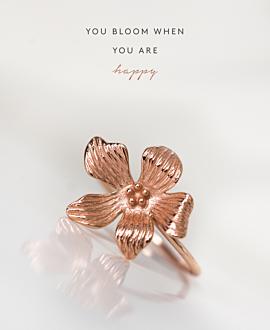 HIBISCUS|Ring Rosé