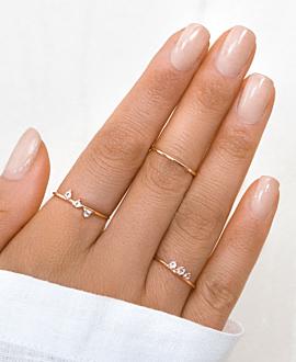 LUZ  Ring Rosé