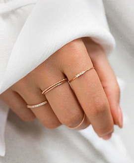 TOPAZ  Ring Rosé