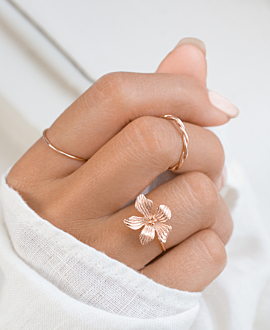 HIBISCUS  RING ROSE
