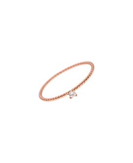 LUCETTE Ring rosé vergoldet