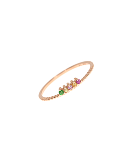 LIGHTSOME GEMS|Ring Rosé