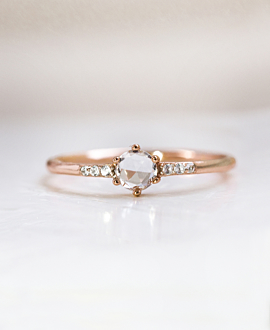 TOPAZ|Ring Rosé