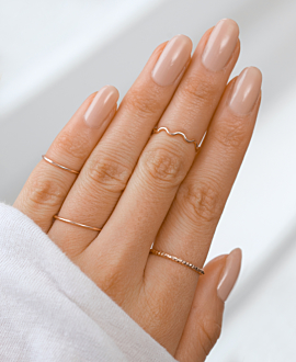 WAVY Ring Rosé