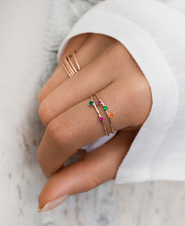 GEM DUO Ring Bunt