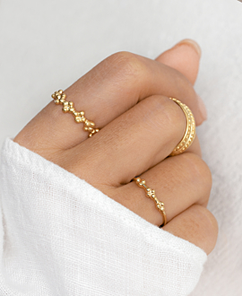 FORTUNA Ring Gold