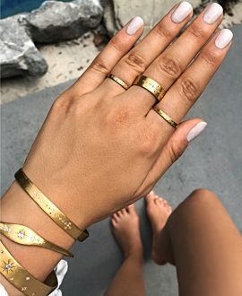 GOLDEN SHINE Ring Gold