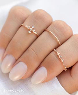TIARA  Ring Silber