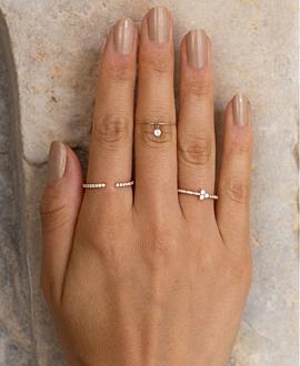 DIAMOND Ring  14K Weißgold
