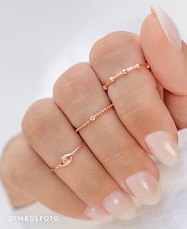 EVIL EYE  Ring Gold