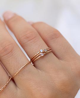 ROSENQUARZ  Ring Rosé