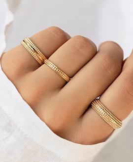 AMELIA  Ring Gold
