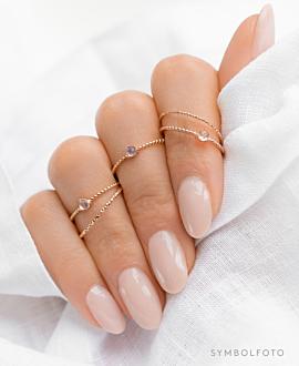 MOONSTONE  Ring Silber